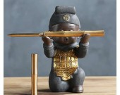 Cute Humanoid Single Pen Stand