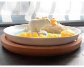 Cute Polar Bear Fruit Salad Nut Bowl