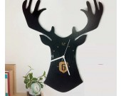 Deer Head Wall Clock