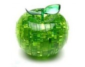 Diy 3D Apple Crystal Puzzle