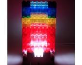 USB Diy Building Block Style Touch Sensor  Desk Lamp
