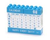Plastic DIY Puzzle & Lego Calendar