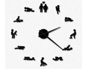 DIY Self Adhesive  Sex Position Wall Clock