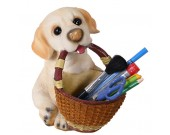 Dog Pen Pencil Holder Desk Organizer