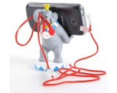 Elephant Cell Phone Stand Charging Dock Holder