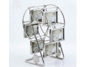 Family Ferris Wheel Picture Frame With 6 Hanging Picture Frames