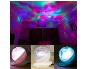 Fashion Diamond Color Changing Projection Lamp