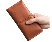 Genuine Leather Wallet Flip Cover Case with Credit Card Holder  for iPhone 7/7 Plus