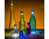 Glowing Led Bottle Cap Lamp