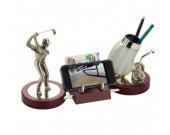 Golf Bag Pen Holder Desktop Decoration novelty gift