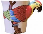 Hand-Painted Animal Ceramic Cups Mug