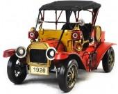 Handmade Antique Model Kit Car - 1911 Ford T  Roadster