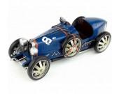 Handmade Antique Model Kit Car 1924 Bugatti Race Car
