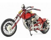 Handmade Antique Model Kit Motorcycle-1948 Harley Motorcycle