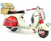 Handmade Antique Model Kit Motorcycle-1959 VESPA motorcycle