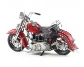 Handmade Antique Model Kit Motorcycle- 1939 Harley  EL  Motorcycle