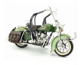 Handmade Antique Model Kit Motorcycle-1962 Harley Motorcycle