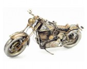 Handmade Antique Model Kit Motorcycle-Retro Harley Motorcycle