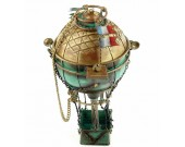 Handmade Antique Tin Model Other-18th Century France Hot Air Balloon