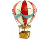 Handmade Antique Tin Model Other-19th Century Europe Hot Air Balloon