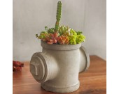 Concrete  Water Pipe  Succulent / Planter / Plant Pot / Flower Pot
