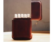 handmade Genuine Leather Cigarette Case