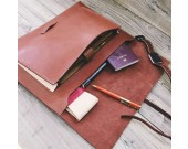 Handmade Genuine Leather Macbook Case Sleeve Portfolio