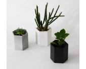 Handmade Hexagon Concrete Succulent Planter Flower Pot
