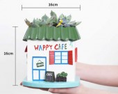 Handmade House Shaped Succulent Planter /Flower Pot