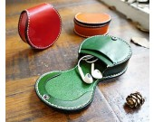 Handmade Leather Earphone Case