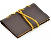 Handmade Vintage Genuine Leather Bound Notebook