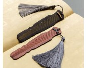 Customize Logo/Name  Engrave Handmade Wooden  Guqin 7-string Zither  Bookmarks, Set of 2