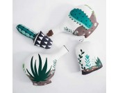 Home Decorative Soft Plush  Vase Throw Pillow
