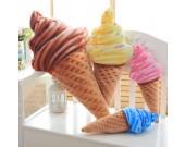 3D Ice Cream Throw Pillow Office Nap Pillow