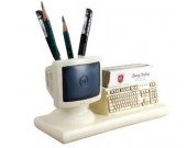 Internet Computer Terminal Keyboard Pen Pencil Holder  Business Card Holder