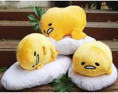 Lazy Egg Plush Doll Cushion Pillow
