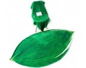 Leaf shape Soft Air Conditioning Blanket- Aspidistra Leaf