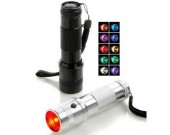 LED Multi-color Flashlight
