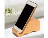 Cute Wooden Animal Cell Phone Tablet Stand Holder
