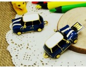 Mini Cooper Car Metal 16G/32G USB Flash Drive