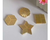Modern Brass Photo Holder Business Card Wedding Table Numbers Holder