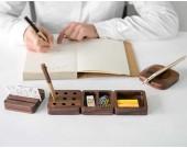 Wooden Modular Desk Organizers