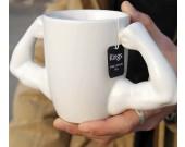 Muscle Man Ceramic  Coffee Mug