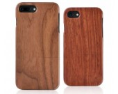 Natural Real Wood Wooden Hard Case Cover for iPhone X/8/8 Plus/7/7 Plus