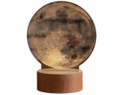 Optical Illusion 3D Moon Deco Light/LED Lamp/Night Light