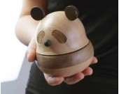 Panda Wooden Music Box