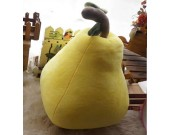 Pear Shaped Cushion Throw Pillow