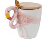 Phoenicopteridae  3D Ceramic Coffee Cup