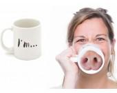 Pig Nose Coffee Tea Mug