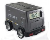 Police Car Coin Bank Piggy Bank